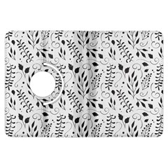 Hand Painted Floral Pattern Kindle Fire Hdx Flip 360 Case by TastefulDesigns