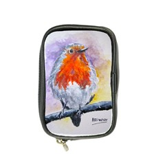 Robin Red Breast Coin Purse by ArtByThree