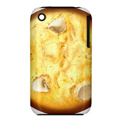White Chocolate Chip Lemon Cookie Novelty Apple iPhone 3G/3GS Hardshell Case (PC+Silicone) by WaltCurleeArt