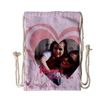 mothers day - Drawstring Bag (Small)
