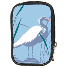 Egret Compact Camera Cases by WaltCurleeArt
