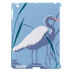 Egret Apple Ipad 3/4 Hardshell Case (compatible With Smart Cover) by WaltCurleeArt