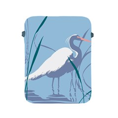 Egret Apple Ipad 2/3/4 Protective Soft Cases by WaltCurleeArt