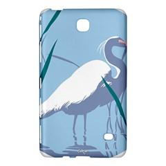 Egret Samsung Galaxy Tab 4 (8 ) Hardshell Case  by WaltCurleeArt