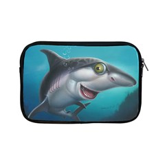 Sharky Apple Ipad Mini Zipper Cases by WaltCurleeArt