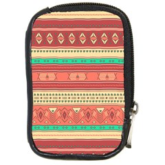 Hand Drawn Ethnic Shapes Pattern Compact Camera Cases by TastefulDesigns
