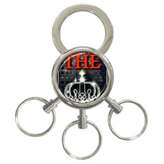The King 3 Ring Key Chains by SugaPlumsEmporium