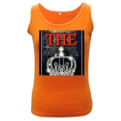 The King Women s Dark Tank Top by SugaPlumsEmporium