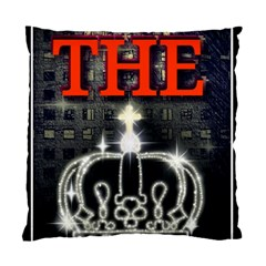 The King Standard Cushion Case (one Side) by SugaPlumsEmporium