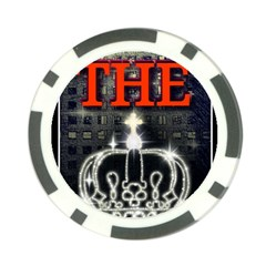 The King Poker Chip Card Guards (10 Pack)  by SugaPlumsEmporium