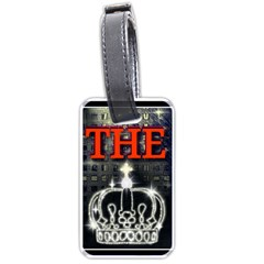 The King Luggage Tags (one Side)  by SugaPlumsEmporium