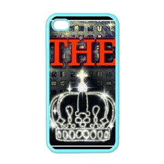 The King Apple Iphone 4 Case (color) by SugaPlumsEmporium