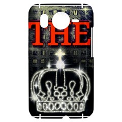 The King HTC Desire HD Hardshell Case  by SugaPlumsEmporium