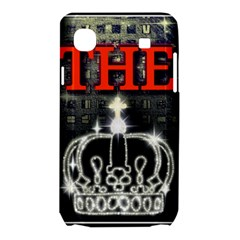 The King Samsung Galaxy SL i9003 Hardshell Case by SugaPlumsEmporium