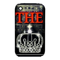 The King Apple Iphone 3g/3gs Hardshell Case (pc+silicone) by SugaPlumsEmporium