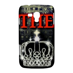 The King Samsung Galaxy Duos I8262 Hardshell Case  by SugaPlumsEmporium