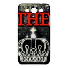 The King Samsung Galaxy Mega 5 8 I9152 Hardshell Case  by SugaPlumsEmporium