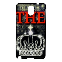 The King Samsung Galaxy Note 3 N9005 Hardshell Case by SugaPlumsEmporium