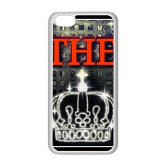 The King Apple Iphone 5c Seamless Case (white) by SugaPlumsEmporium