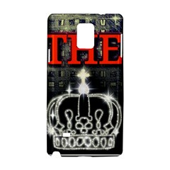 The King Samsung Galaxy Note 4 Hardshell Case by SugaPlumsEmporium