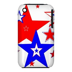 The Patriot 2 Apple Iphone 3g/3gs Hardshell Case (pc+silicone) by SugaPlumsEmporium