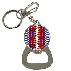 The Patriotic Flag Bottle Opener Key Chains by SugaPlumsEmporium