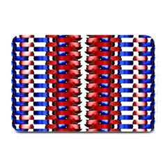 The Patriotic Flag Plate Mats by SugaPlumsEmporium