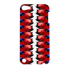 The Patriotic Flag Apple Ipod Touch 5 Hardshell Case by SugaPlumsEmporium