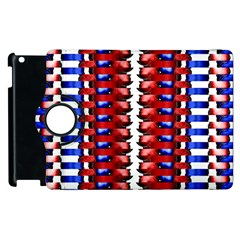 The Patriotic Flag Apple Ipad 3/4 Flip 360 Case by SugaPlumsEmporium