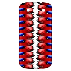 The Patriotic Flag Samsung Galaxy S3 S Iii Classic Hardshell Back Case by SugaPlumsEmporium