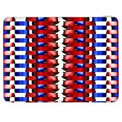 The Patriotic Flag Samsung Galaxy Tab 7  P1000 Flip Case by SugaPlumsEmporium