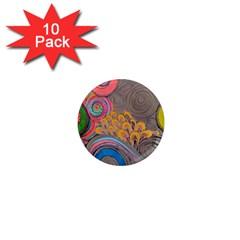 Rainbow Passion 1  Mini Magnet (10 Pack)  by SugaPlumsEmporium