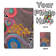 Rainbow Passion Playing Cards 54 Designs  by SugaPlumsEmporium