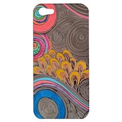 Rainbow Passion Apple Iphone 5 Hardshell Case by SugaPlumsEmporium