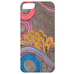 Rainbow Passion Apple Iphone 5 Classic Hardshell Case by SugaPlumsEmporium