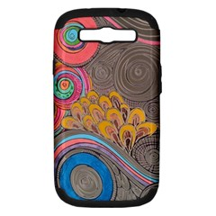 Rainbow Passion Samsung Galaxy S Iii Hardshell Case (pc+silicone) by SugaPlumsEmporium
