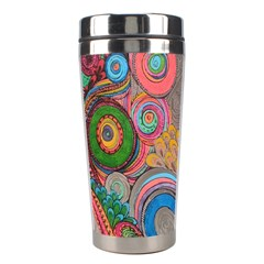 Rainbow Passion Stainless Steel Travel Tumblers by SugaPlumsEmporium