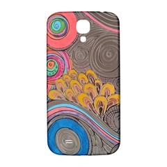 Rainbow Passion Samsung Galaxy S4 I9500/i9505  Hardshell Back Case by SugaPlumsEmporium