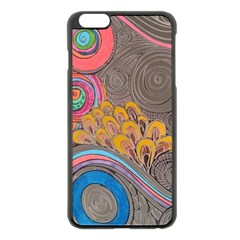 Rainbow Passion Apple Iphone 6 Plus/6s Plus Black Enamel Case by SugaPlumsEmporium