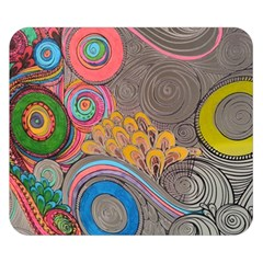 Rainbow Passion Double Sided Flano Blanket (small)  by SugaPlumsEmporium
