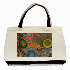 Rainbow Passion Basic Tote Bag by SugaPlumsEmporium