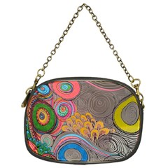 Rainbow Passion Chain Purses (one Side)  by SugaPlumsEmporium