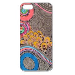 Rainbow Passion Apple Seamless Iphone 5 Case (clear) by SugaPlumsEmporium