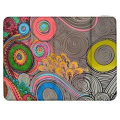 Rainbow Passion Samsung Galaxy Tab 7  P1000 Flip Case by SugaPlumsEmporium