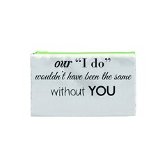 Wedding Favor/thank You Cosmetic Bag (xs) by LittileThingsInLife
