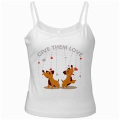 Give Them Love Ladies Camisoles by TastefulDesigns
