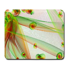 The Wedding Veil Series Large Mousepads by SugaPlumsEmporium