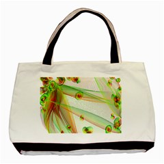 The Wedding Veil Series Basic Tote Bag by SugaPlumsEmporium