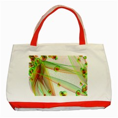 The Wedding Veil Series Classic Tote Bag (red) by SugaPlumsEmporium