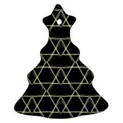 Star Of David   Christmas Tree Ornament (2 Sides) by SugaPlumsEmporium